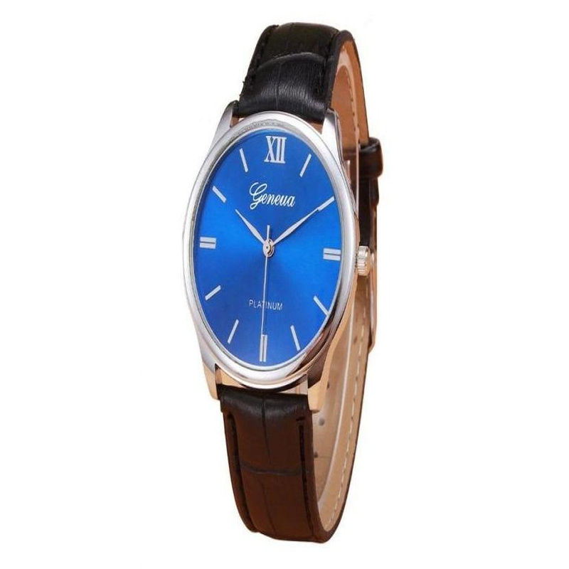 Brown Leather Retro Design Watch