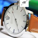 Brown Strap Casual Watch For Men