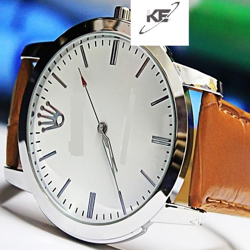 Brown Strap Casual Watch For Mens 399