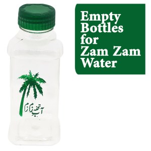 Empty Bottles for zam zam pack of 100 bottles rs 950