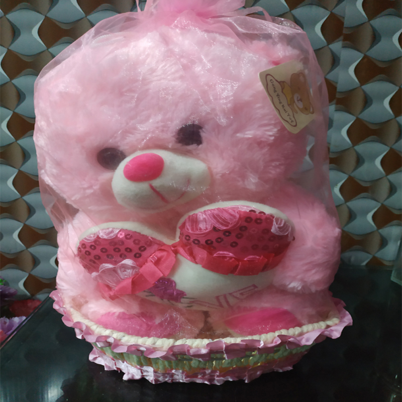 Pink Teddy Bea