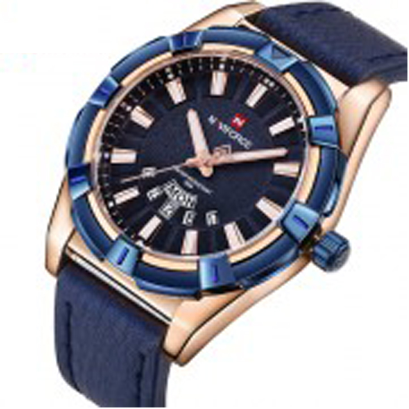 Quartz Lwather Strap Watch 2799