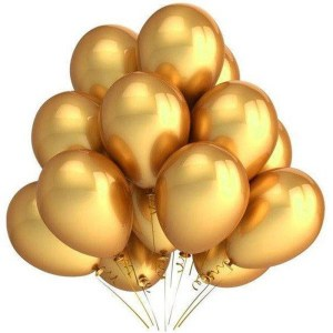golden baloons 100 pack 499