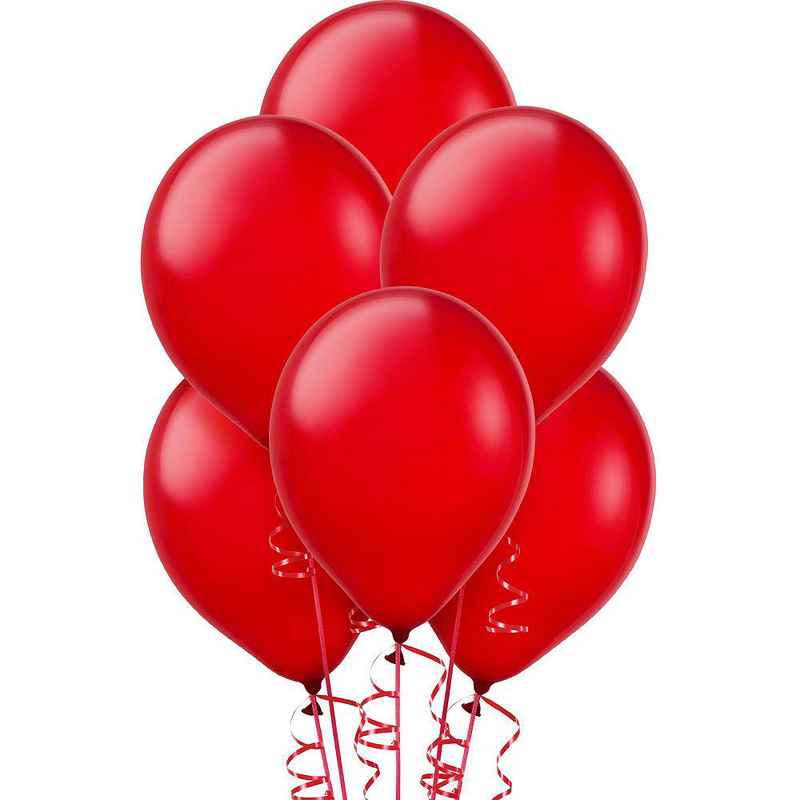 pack of 100 Red Baloons 499