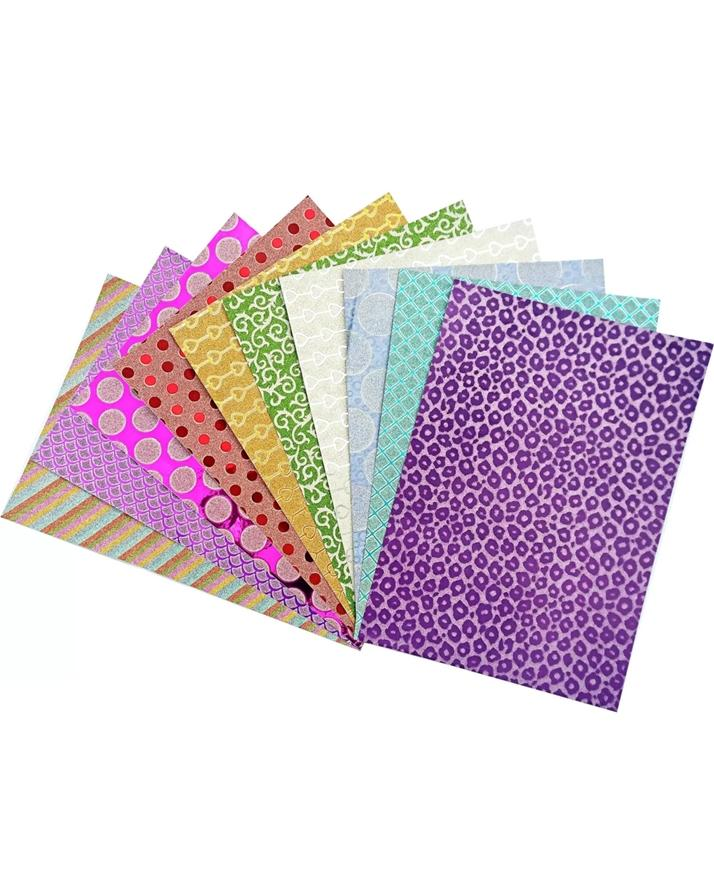 10 Sheets A4 Sparkling Glitter 250