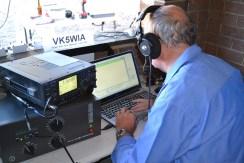 Nigel VK5NIG operating 40m