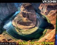 VK3OHM on 7171kHz SSTV