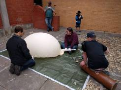 filling balloon horus 40