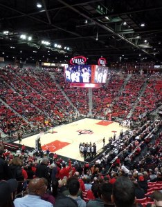 Viejas arena picture seating chart also review san diego state rh arenafanatic