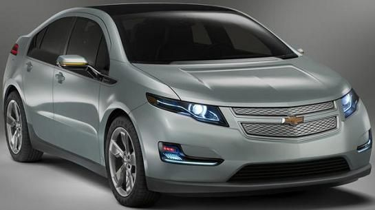Chevrolet Volt - fata