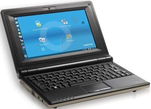 Netbook cu procesor AMD