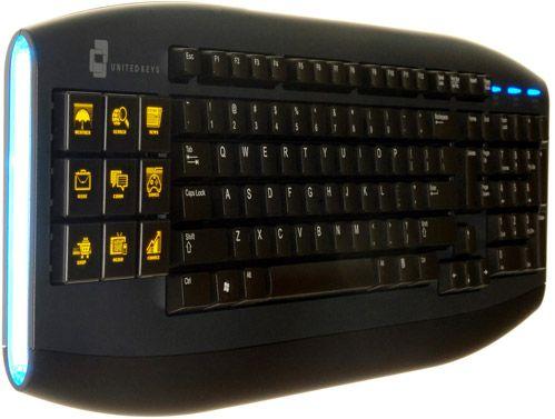 UnitedKeys are o tastatura OLED