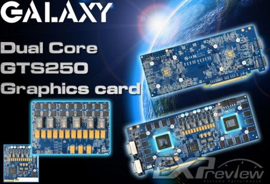 Galaxy vrea dual GTS 250