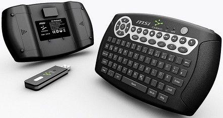 Tastatura cu senzor de miscare