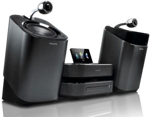 Philips SoundSphere, sistem audio