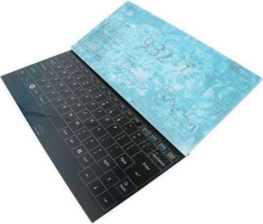 Notebook fara margini
