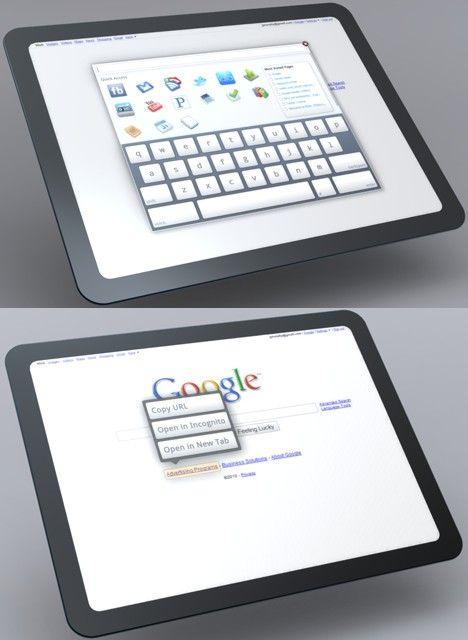 Google vrea tablet PC?