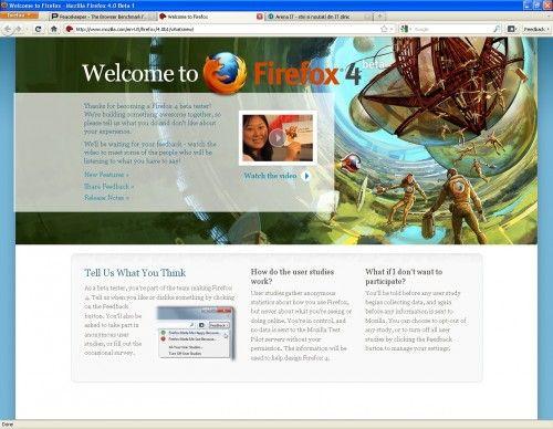 Firefox 4.0 intra in beta
