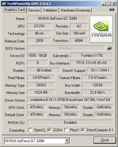 Review Toshiba Qosmio F60-10H