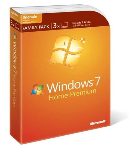 Windows 7 Family Pack in Romania