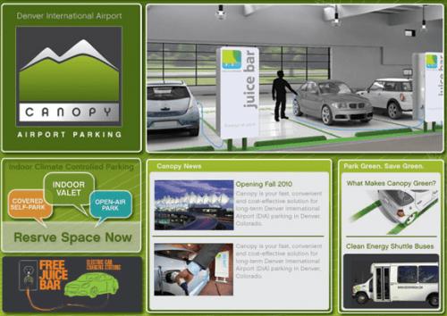 """Cel mai """"verde"""" garaj din lume"""