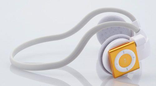Casti wireless pentru iPod Shuffle