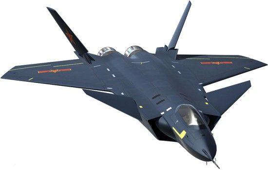 Avion stealth chinezesc