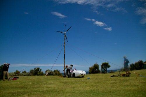 5000 km parcursi de o masina eoliana