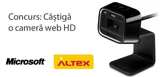 Concurs: castiga o camera web HD