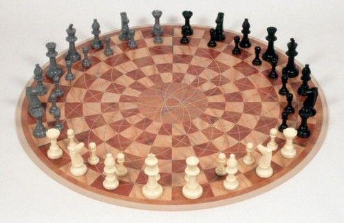 3 Man Chess: Sah pentru trei persoane