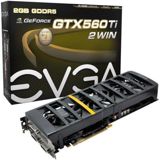 eVGA are placa video dual GTX 560 Ti