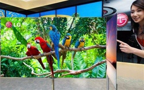 Televizor OLED gros de 4 mm de la LG