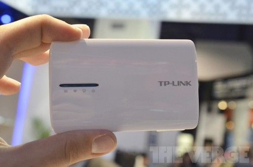 TP-Link Portable 3G battery router