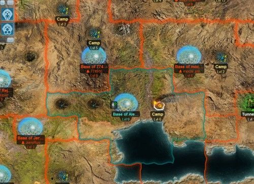 C&C Tiberium Alliances in beta