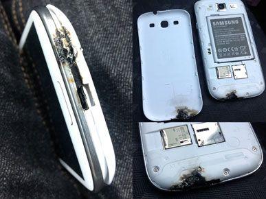 Este Galaxy S3 un pericol de incendiu?