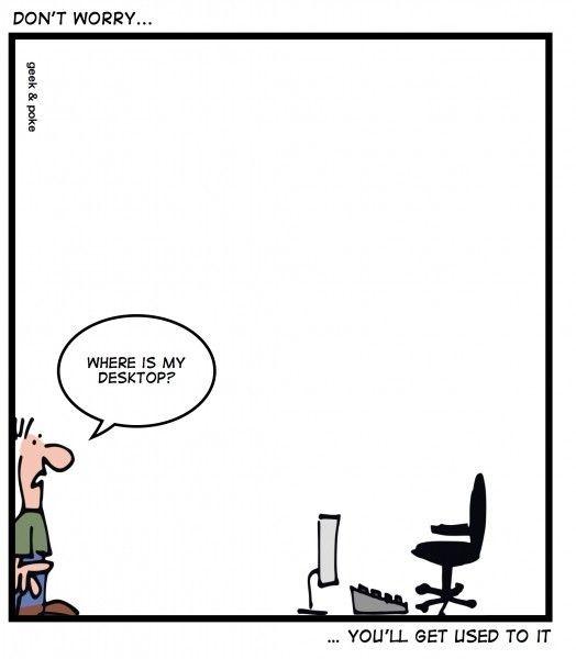 Parodie IT: Windows 8, Twitter, iPad