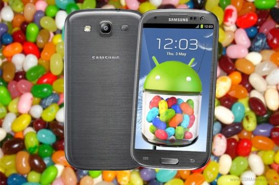 Jelly Bean vine de azi pe Galaxy SIII