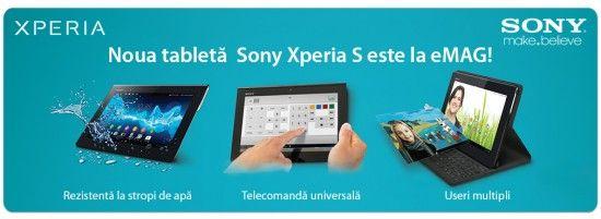 Lansare Sony Xperia S in Romania