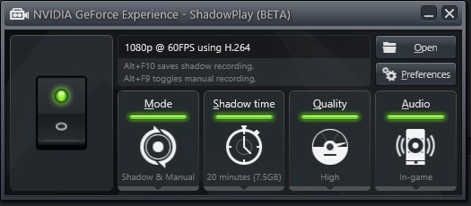 nVidia_Shadowplay