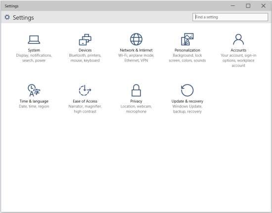 Microsoft_Windows10_Control_Panel