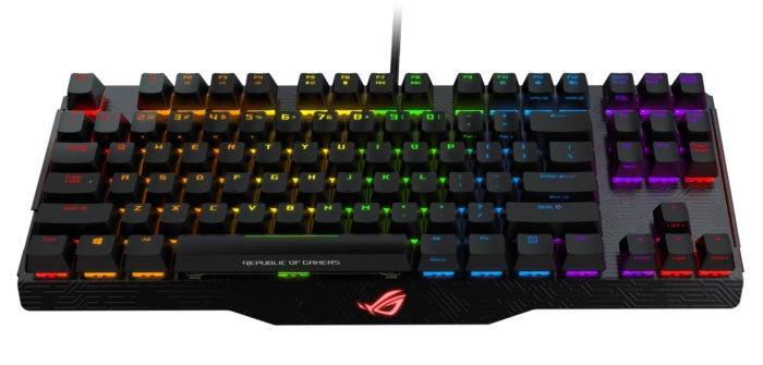 Review tastatura ASUS ROG Claymore Core