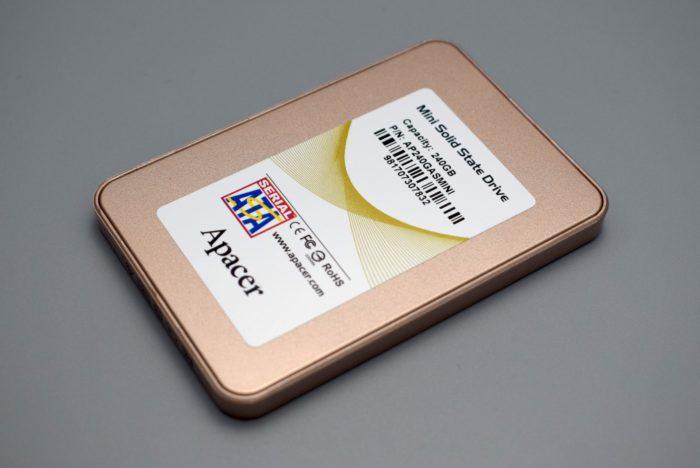 Review SSD extern Apacer ASMini 240GB