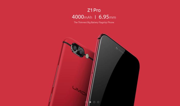 UMIDIGI lansează Z1 și Z1 Pro: smartphone-uri cu design atractiv și raport preț/performanță foarte bun (P)