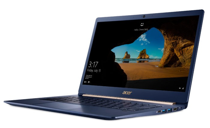 Acer a lansat notebook-urile Swift 5, Spin 5 si Switch 7 Black Edition