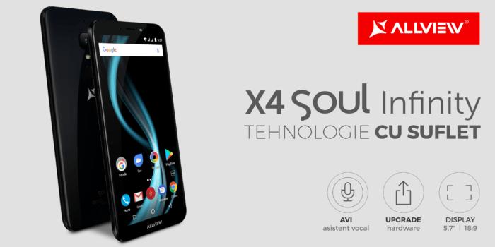 Allview a lansat X4 Soul Infinity impreuna cu asistentul vocal in limba romana AVI
