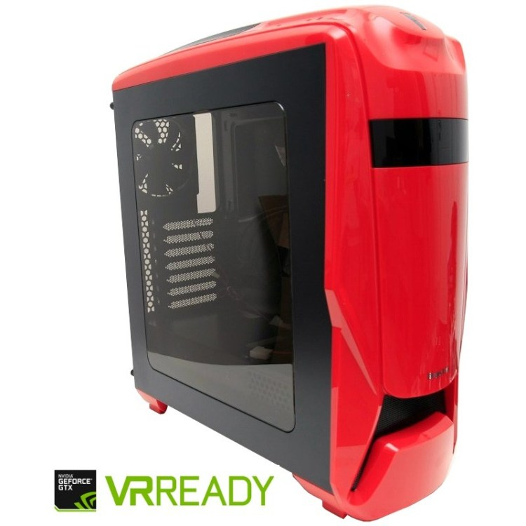 Review sistem Gaming Red Shocktrooper by PC Garage: Ryzen 5 1400 si GTX 1060