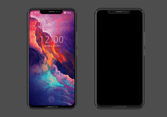 UMIDIGI Z2 - telefon bezel-less în stilul iPhone X cu scanner de amprentă montat sub ecran (P)