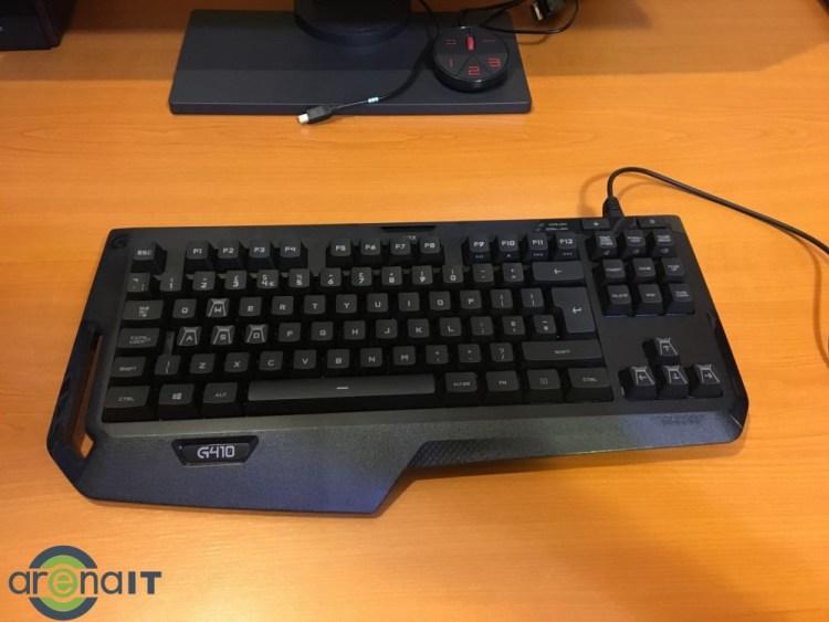 Review tastatura Logitech G410 Atlas Spectrum
