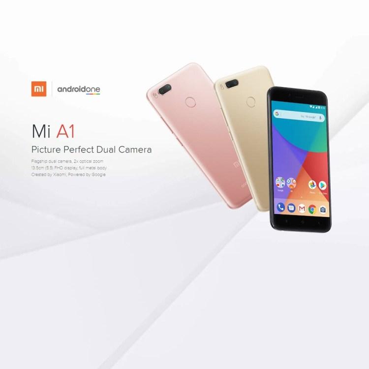 Inca o data Xiaomi Mi A1 intra la oferta zilei