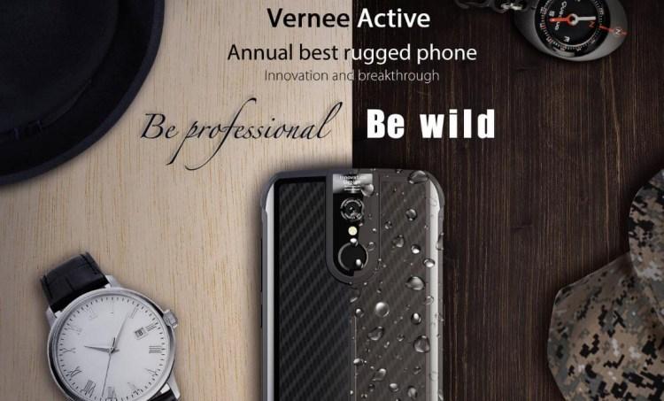 Vernee Active - telefon rugged si aratos in acelasi timp + concurs